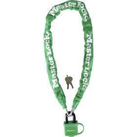 Masterlock 8390 Chain Lock 6 mm x 900 mm, green